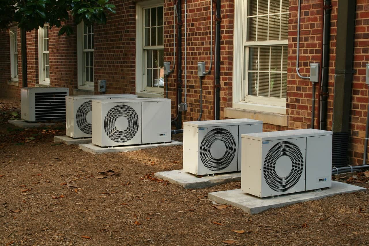 exterior air conditioning unit