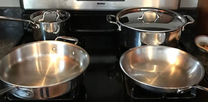 All Clad Cookware Flared Rim