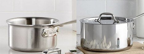 Brushed vs Polished All Clad Cookware
