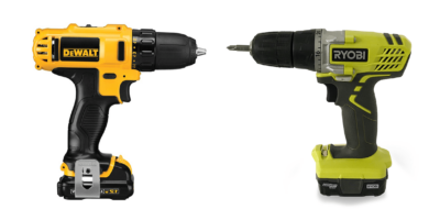 Ryobi vs. DeWalt: How Do Their Drills Compare?