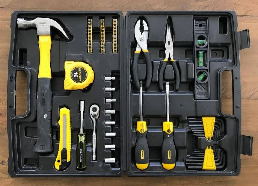 Stanley 65 piece household tool set