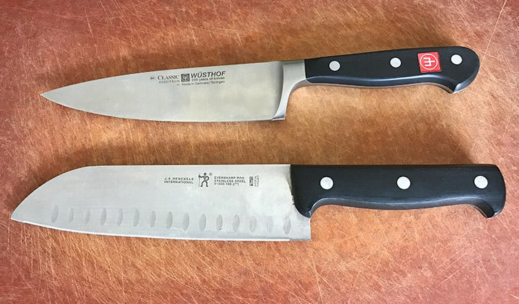 Wusthof versus Zwilling JA Henckels Kitchen Knives