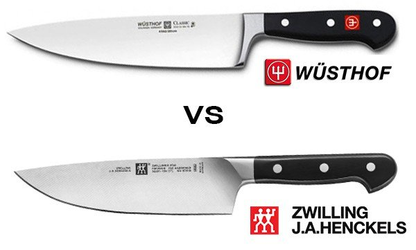 Wusthof vs  Zwilling J A  Henckels: Differences