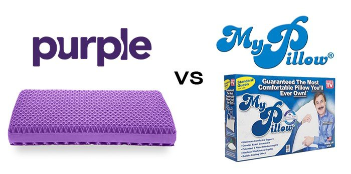 purple pillow vs my pillow in depth comparison prudent reviews. Black Bedroom Furniture Sets. Home Design Ideas