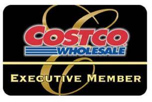 Costco Gold Star executive membership card