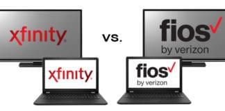 Xfinity vs Fios