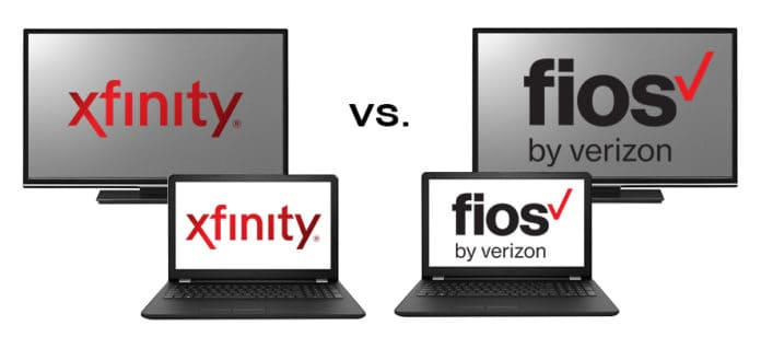 photograph about Comcast Digital Preferred Channel Lineup Printable referred to as Comcast Xfinity vs. Verizon Fios (Which Tv set/Web Is