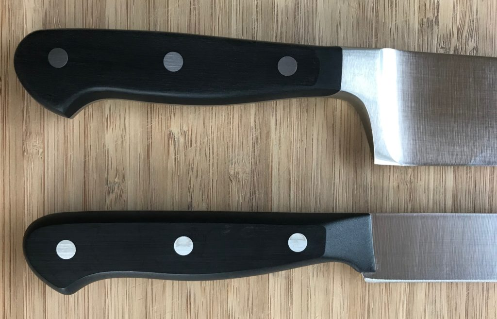 Wusthof Classic vs Gourmet handle design