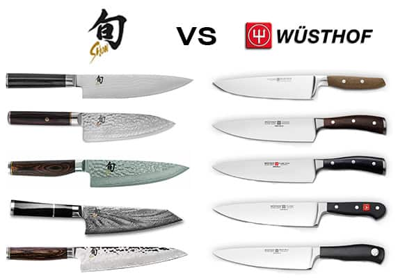 Shun vs Wusthof knives