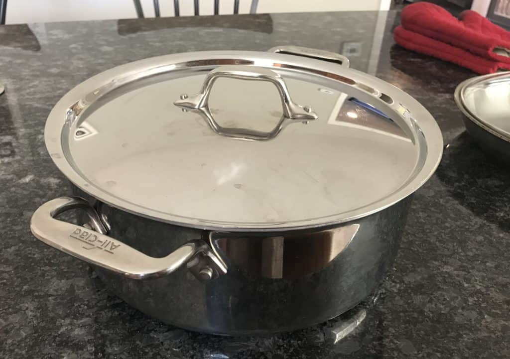All Clad Stainless Steel Lid