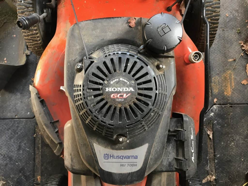 Husqvarna self propelled mower Honda engine