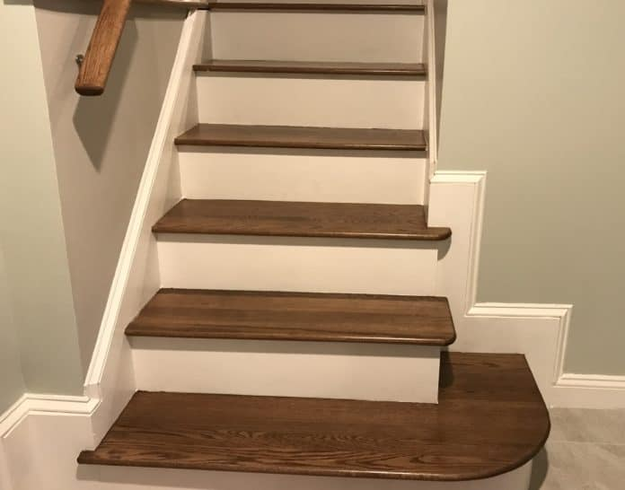 how to make hardwood stairs less slippery