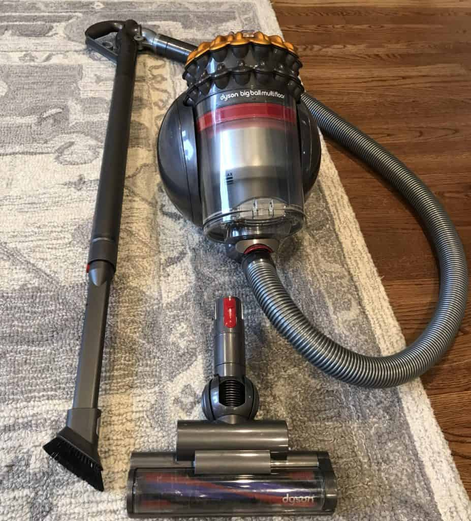 Dyson big ball multi floor canister vacuum dusting attachment