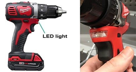 Milwaukee M18 Compact Drill Led Light