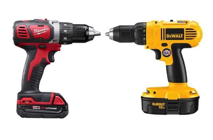 Milwaukee vs. DeWalt