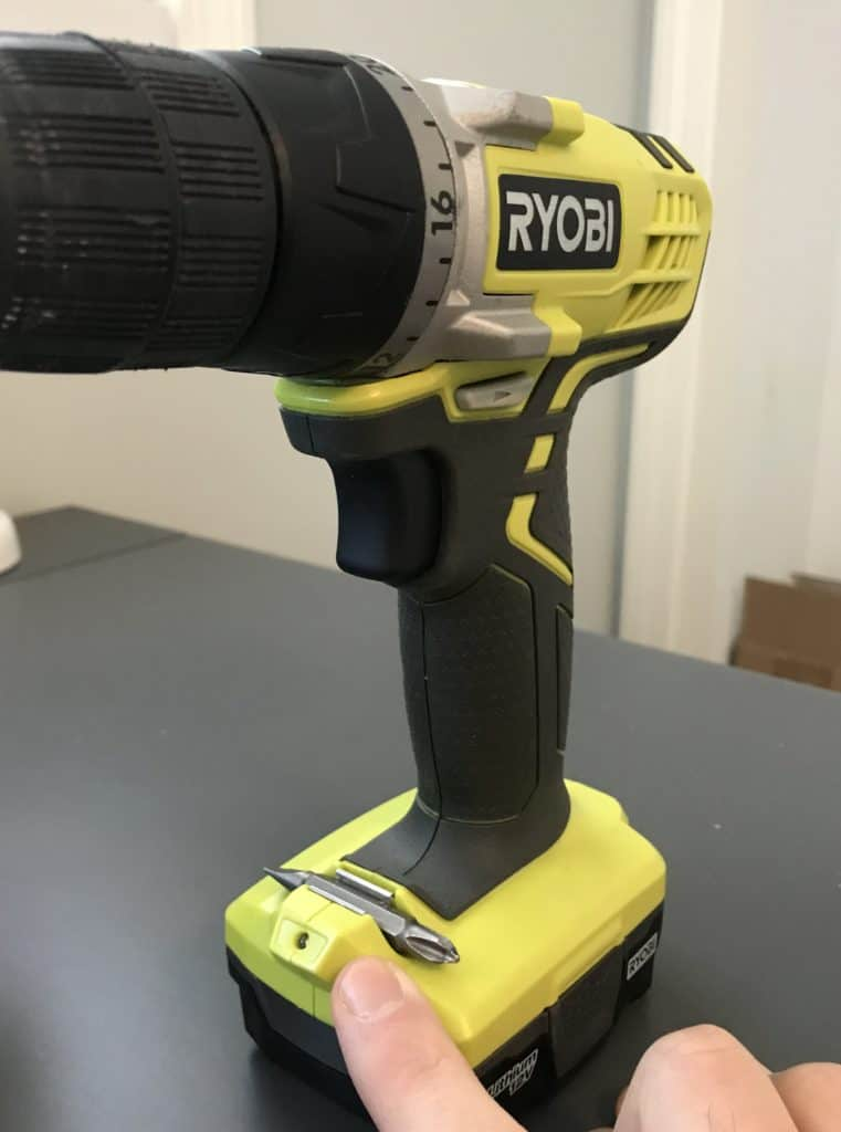 Ryobi 12V Drill Bit Holder and LED light