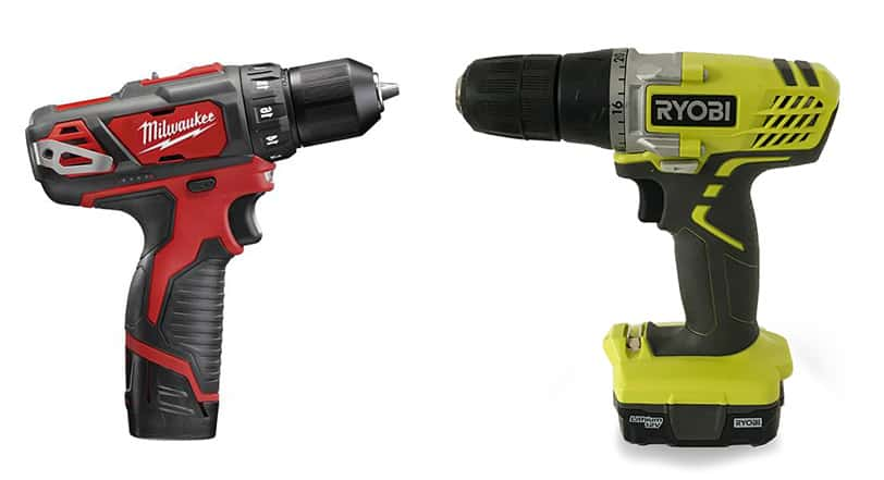 Ryobi vs  Milwaukee Cordless Drills: What Are Their