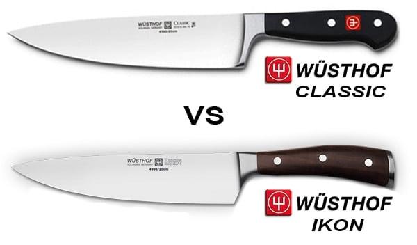Wusthof Classic vs Wusthof Ikon