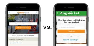 HomeAdvisor vs. Angie's List