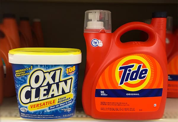 OxiClean vs. Tide: Which Detergent and