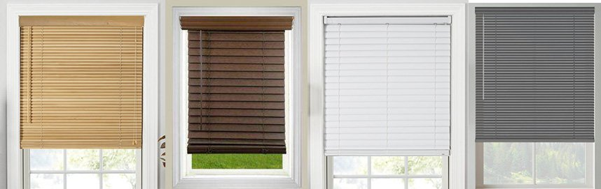 Different types of blinds