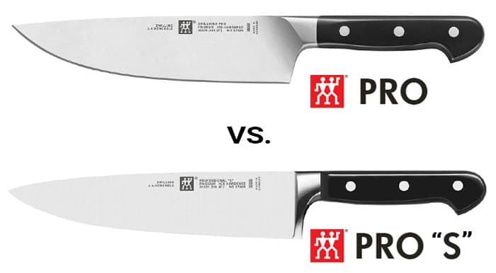 Zwilling J.A. Henckels Pro vs. Pro S