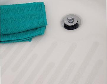 anti-slip adhesive shower treads