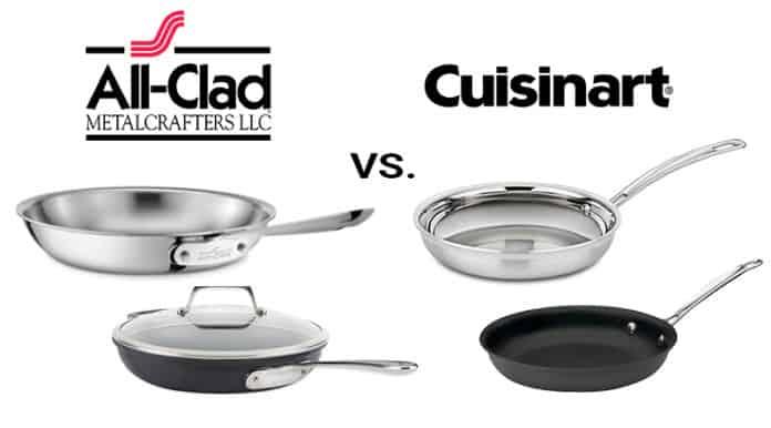 All-Clad vs. Cuisinart