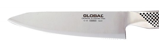 Global G-Series 7-Inch Chef's Knife blade design
