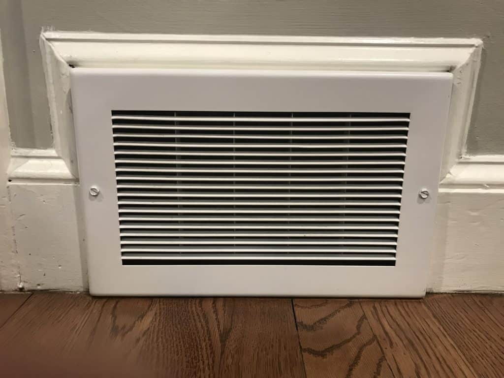 Cleaning AC and heating vents
