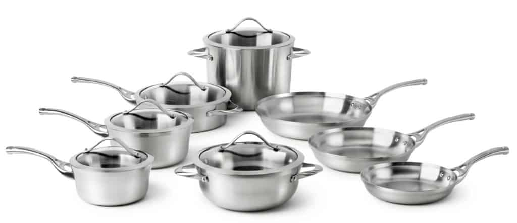 Calphalon Contemporary Stainless Steel Cookware