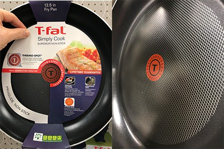 T-Fal Thermospot Heat Indicator