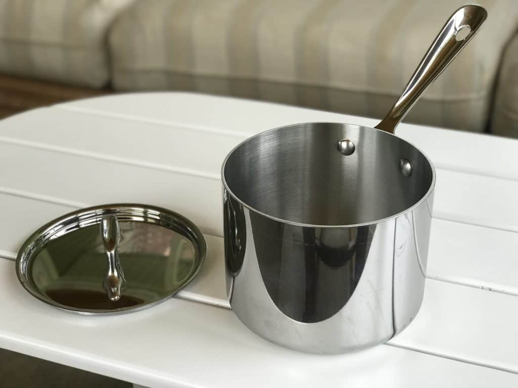 All-Clad D3 Stainless Steel Saucepan