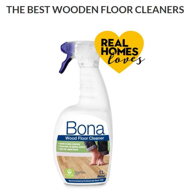 Real Homes Best Floor Cleaner: Bona