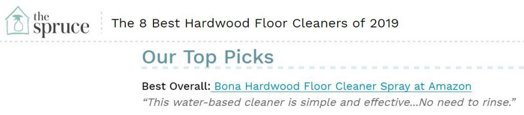 The Spruce Best Floor Cleaners: Bona