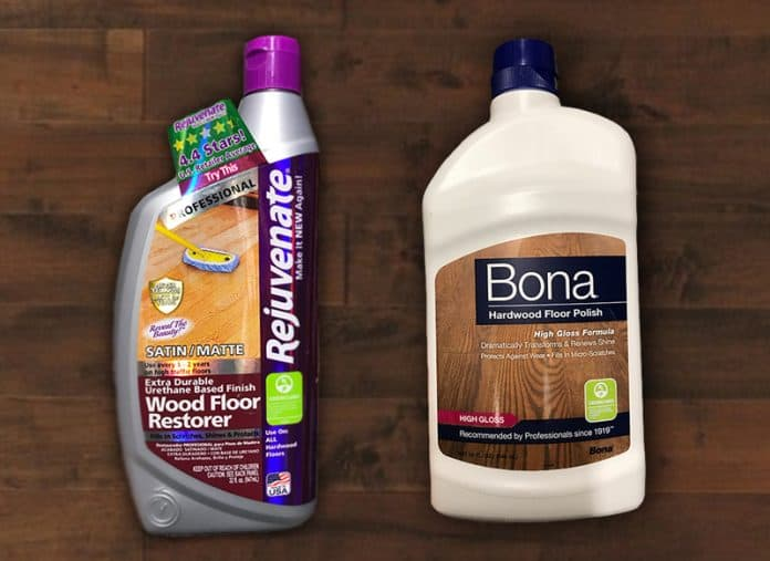 Rejuvenate Vs Bona Which Floor Cleaner And Polish Is The