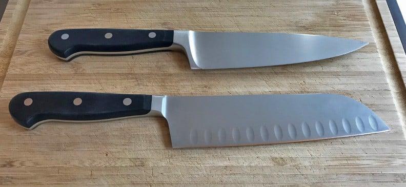 Wusthof Classic Chefs Knife and Santoku Knife