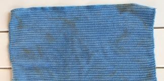 how to clean and disinfect microfiber cloths