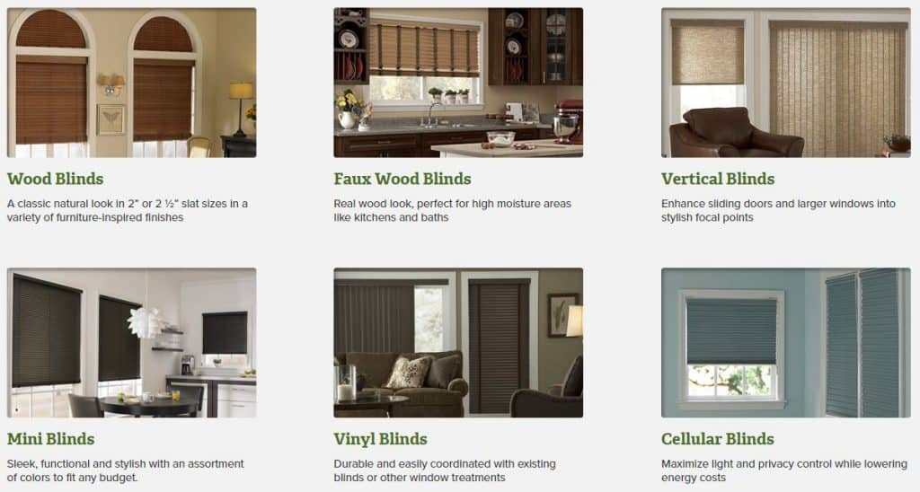 3 Day Blinds Product Options