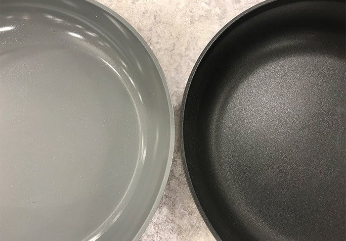 Ceramic vs. Teflon nonstick cookware