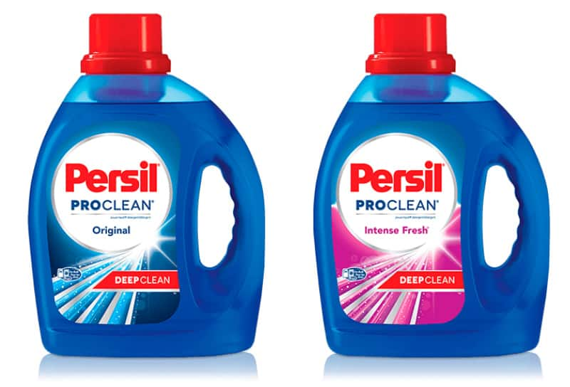 Persil ProClean Original and Intense Fresh