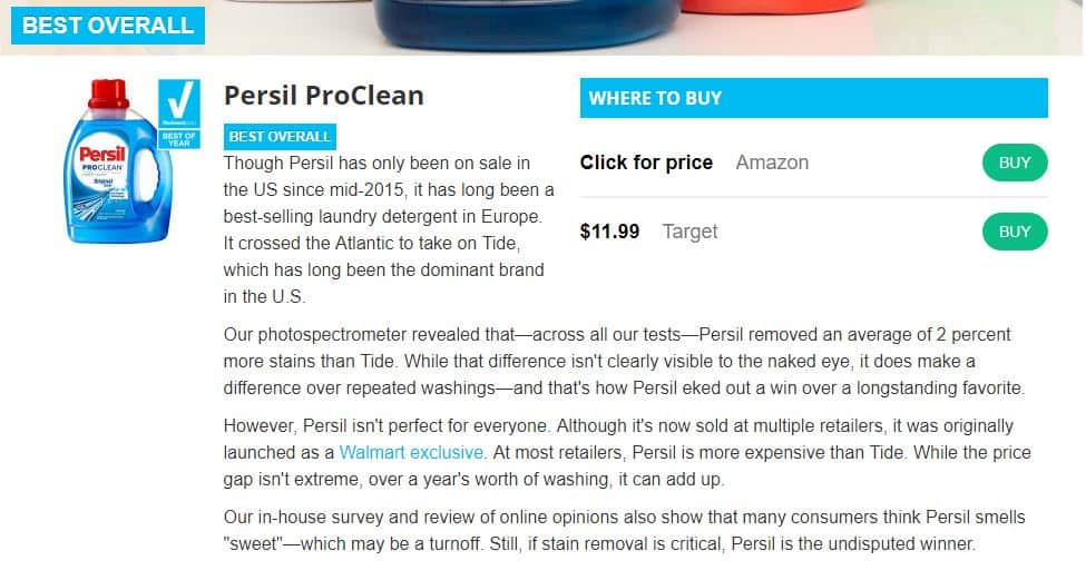 Reviewed.com Persil beats out Tide