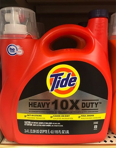 Tide 10x Heavy Duty