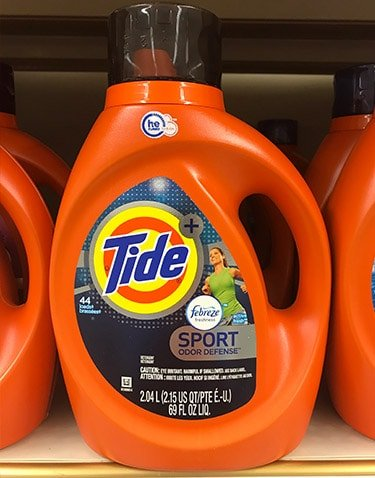 Tide Plus Febreze Sport Odor Defense