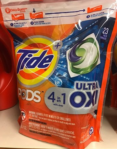 Tide Ultra Oxi 4-in-1 Pods