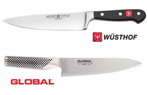 Wusthof vs. Global Kitchen Knives (In