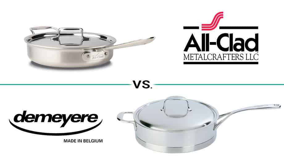 All-Clad vs. Demeyere