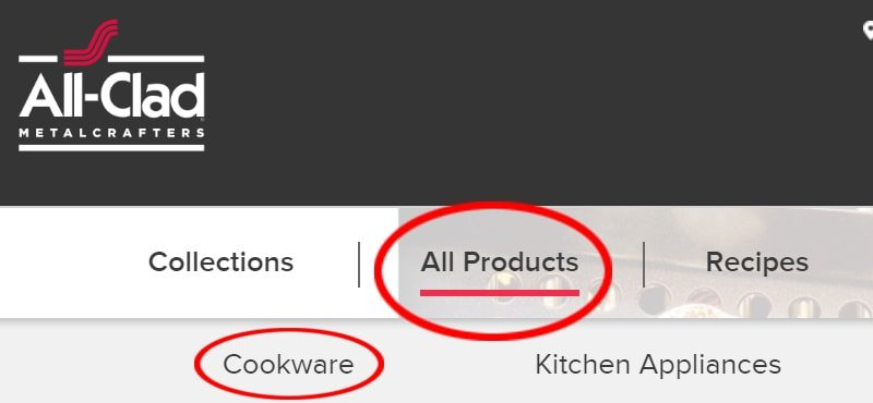 All-Clad.com - All Products - Cookware