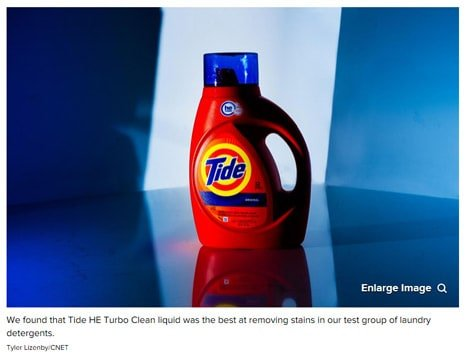 CNET Tide HE Turbo Clean