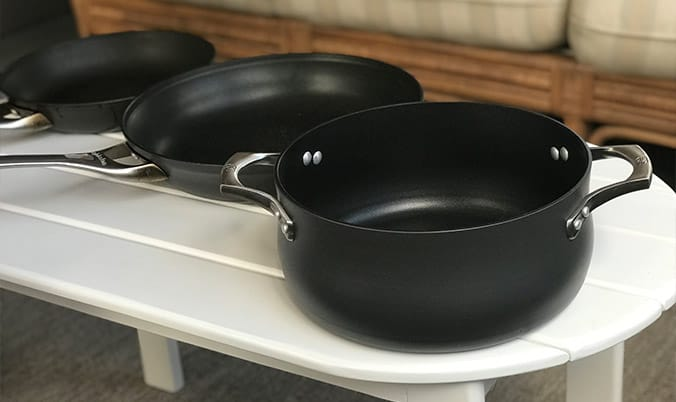 Calphalon Hard Anodized Aluminum Cookware Set